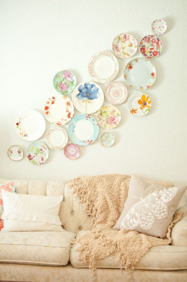 Plates as Wall Hangings