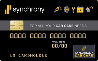 Synchrony Bank Discount Tire >> Synchrony Car Care Auto Repair Credit Card