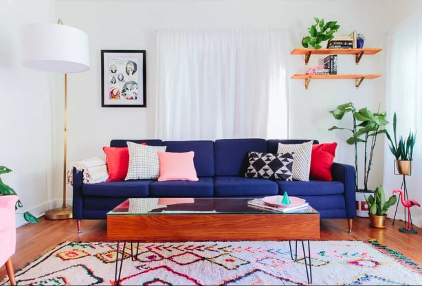 Colorful Accent Furniture